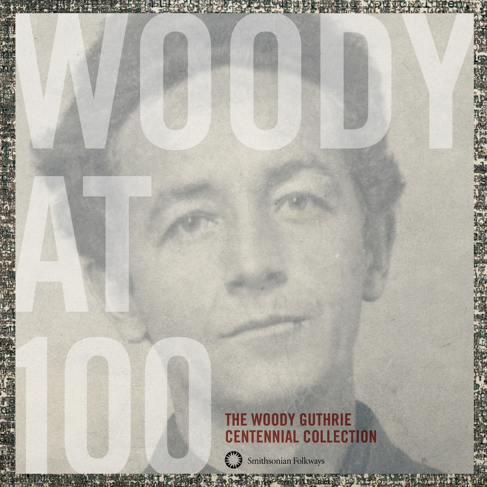 Woody at 100: The Woody Guthrie Centennial Collection is available from Smithsonian Folkways. (Smithsonian Folkways)