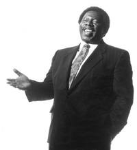 An older publicity photo of Oliver Jones.