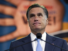 Mitt Romney speaks at the NAACP annual convention Wednesday in Houston.