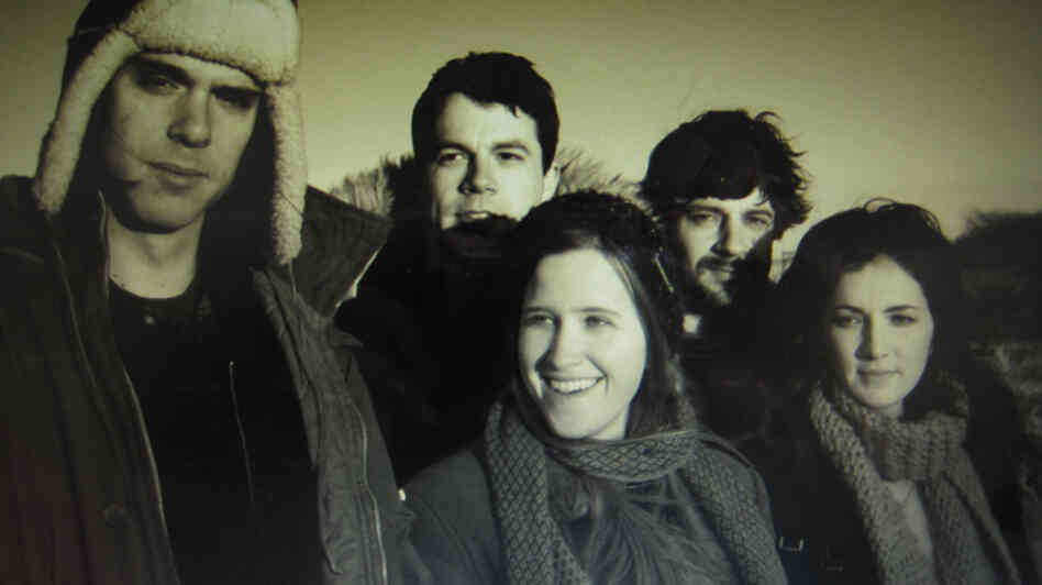 The Dirty Projectors, whose album Swing Lo Magellan was released on Tuesday.