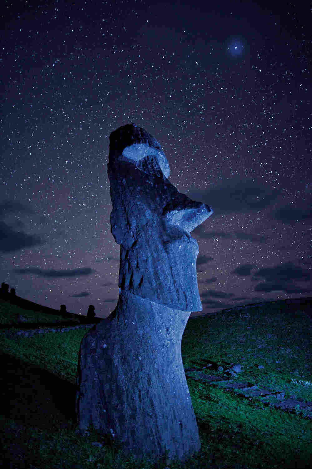 """""""The statues walked,"""" Easter Islanders say. Archaeologists are still trying to figure out how."""