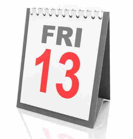There's one more Friday the 13th this year, in July.