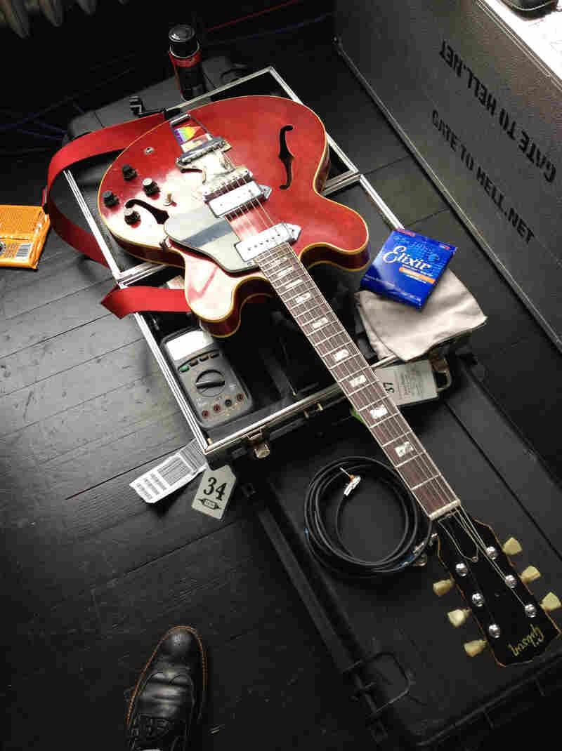 A Tech's Nemesis: Jack Antonoff's 1968 Gibson ES-330 electric guitar.