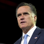 Republican presidential candidate and former Massachusetts Gov. Mitt Romney pauses during a speech to the NAACP annual convention on Wednesday in Houston.