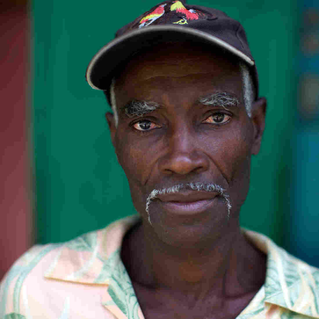 Francois St. Ker, 55, was on the brink of dying from AIDS in the spring of 2001. Today, he's a successful farmer and is in good health, thanks to treatment for his HIV.