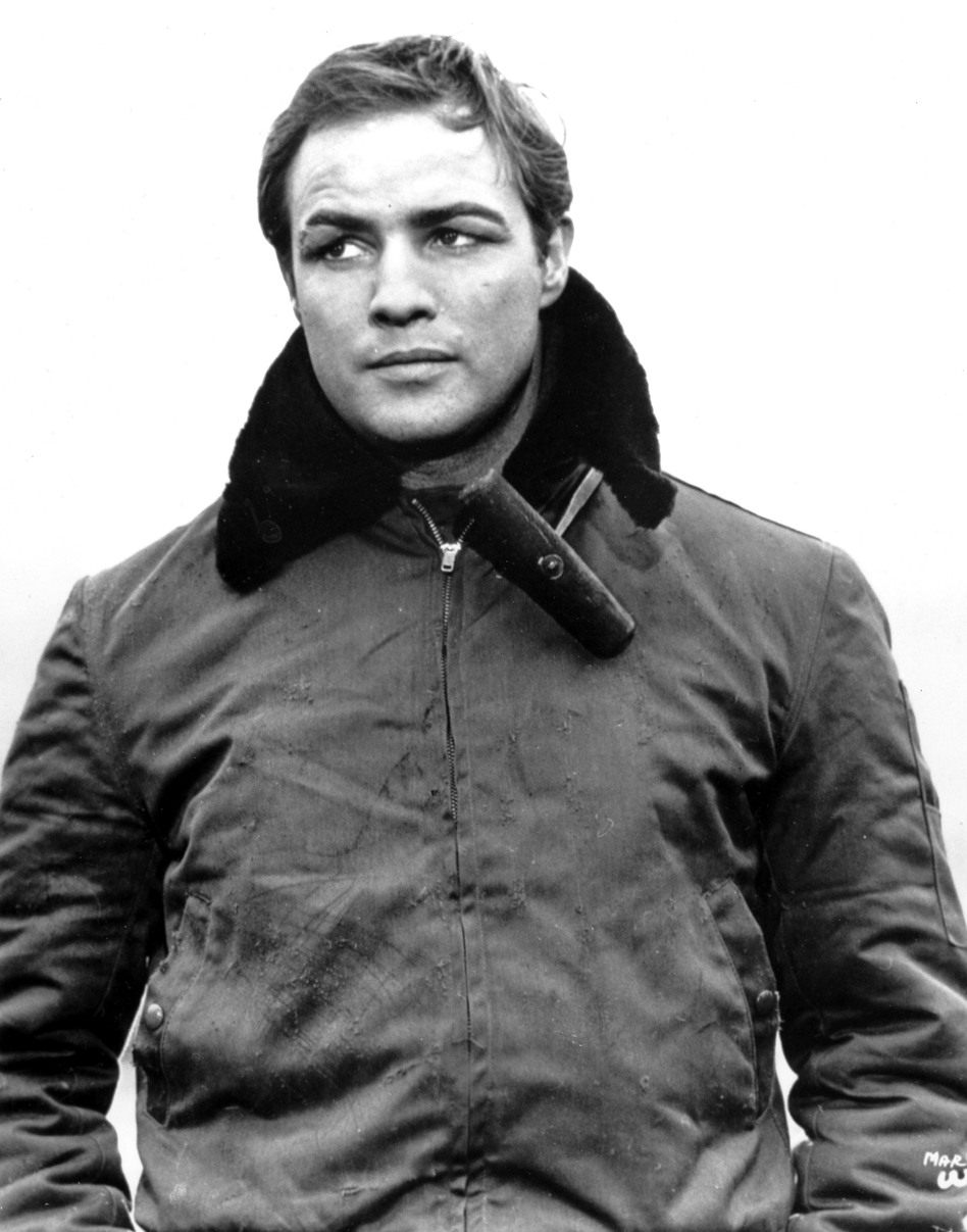 Marlon Brando starred in the 1955 film, <em>On the Waterfront</em>.