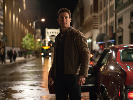 Tom Cruise as the title character in the upcoming film, Jack Reacher, based on the character created by Lee Child.