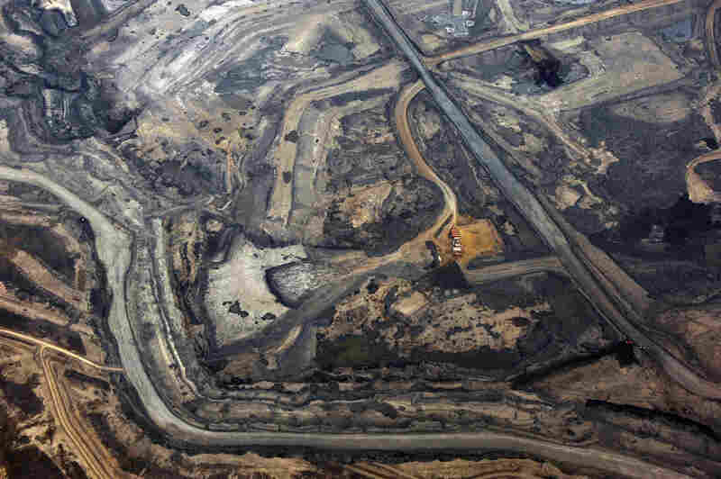 Blackwell also visited the tar sands in Alberta, Canada, which would supply the oil for the controversial Keystone XL pipeline through the U.S.