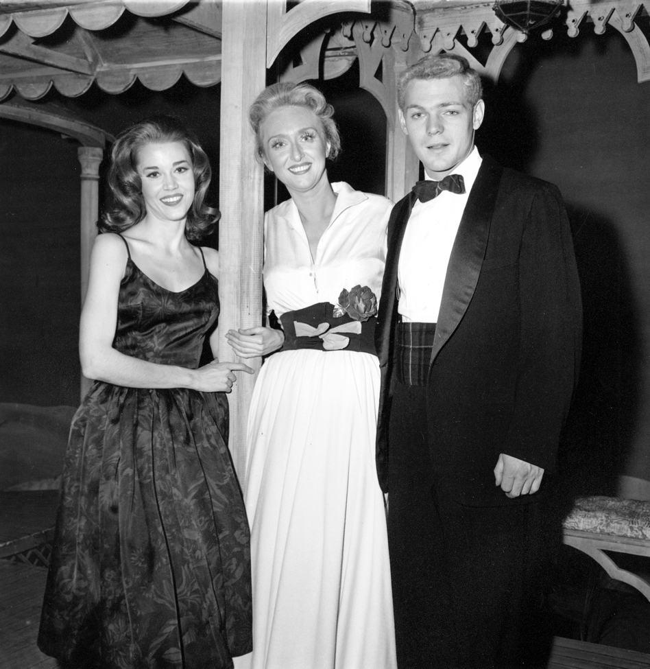 In 1960, Holm starred with Jane Fonda and James MacArther in Invitation To A March. (AP)