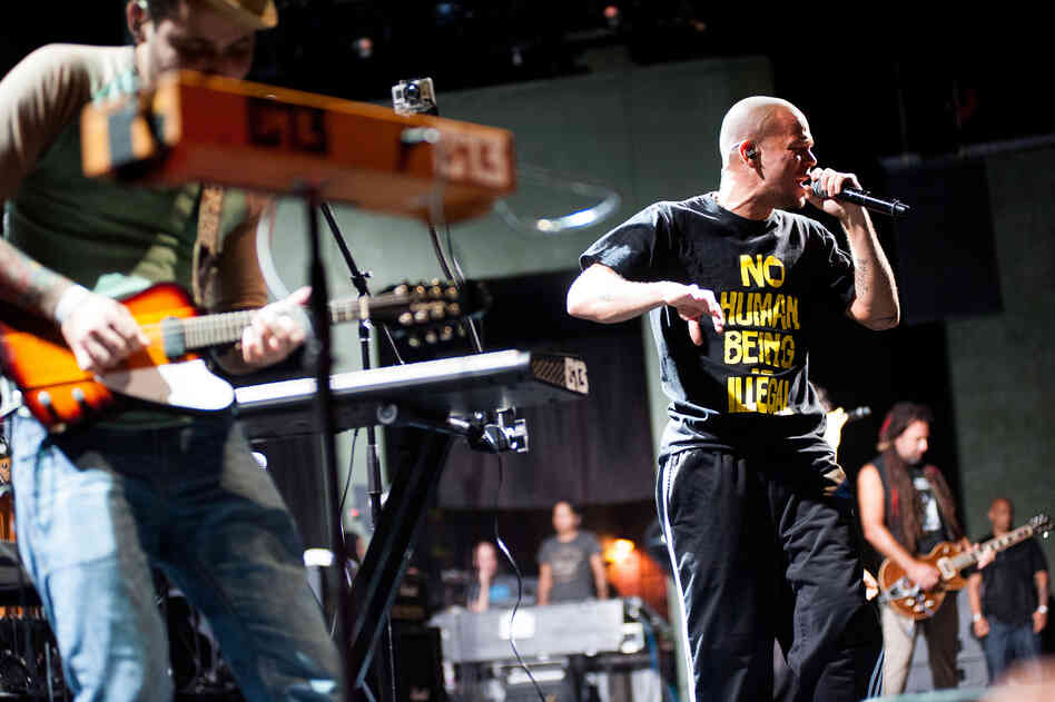Calle 13 was formed by stepbrothers Eduardo Jose Cabra Martinez, who calls himself Visitante, and Rene Perez Joglar, who calls himself Residente.