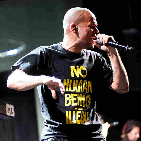 Calle 13 was formed by stepbrothers Eduardo Jose Cabra Marti­nez, who calls himself Visitante, and Rene Perez Joglar, who calls himself Residente.