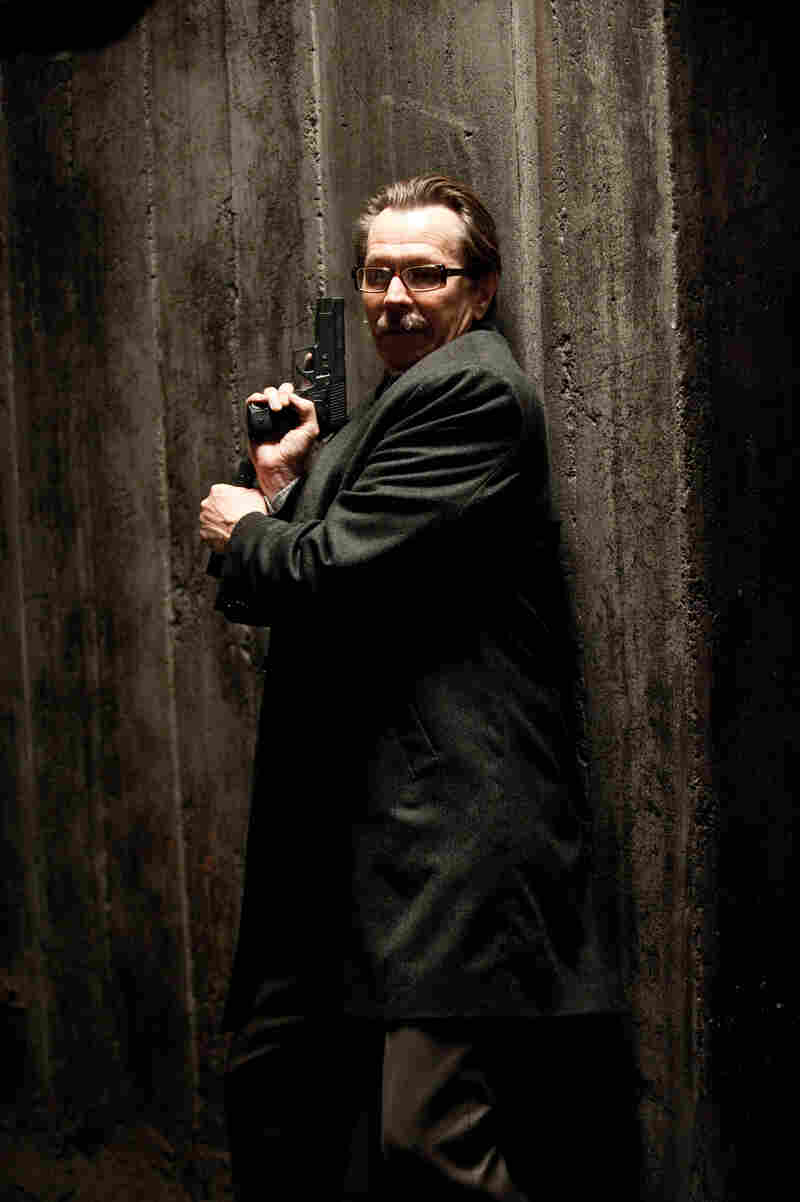 Gary Oldman as Commissioner Gordon in The Dark Knight Rises.
