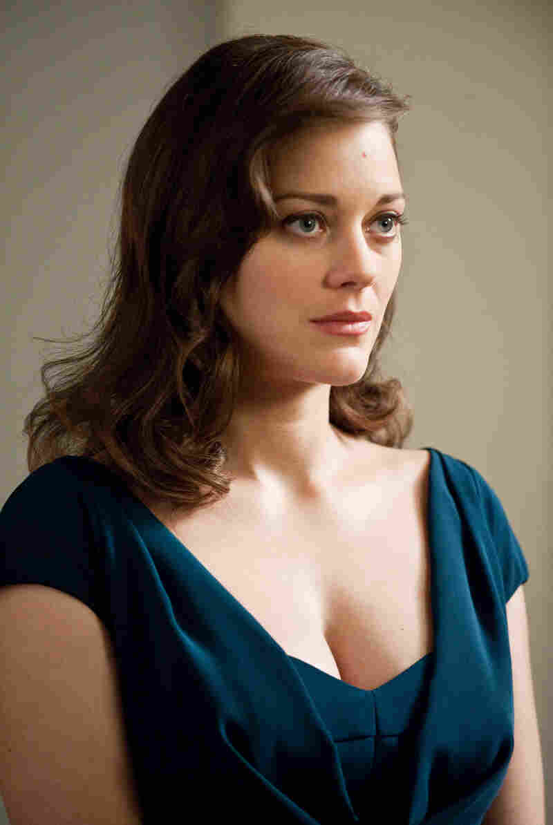 Marion Cotillard as Miranda Tate in The Dark Knight Rises.