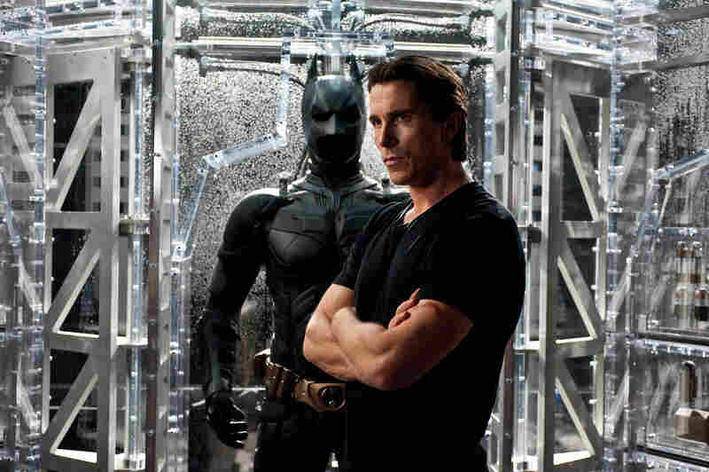Christian Bale as Bruce Wayne in The Dark Knight Rises.
