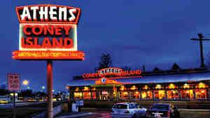 Athens Coney Island sign