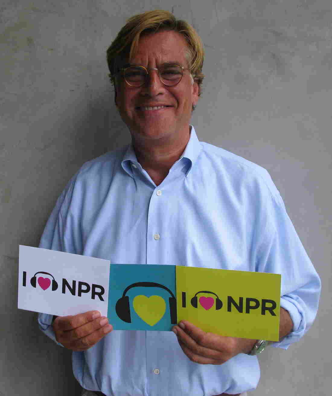 Aaron Sorkin at NPR West.