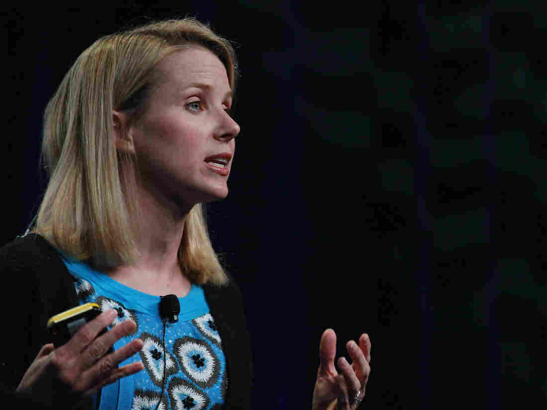 Marissa Mayer left Google to become the CEO of Yahoo. She was Google's 20th hire and is responsible for the look and feel of many of Google's major products.