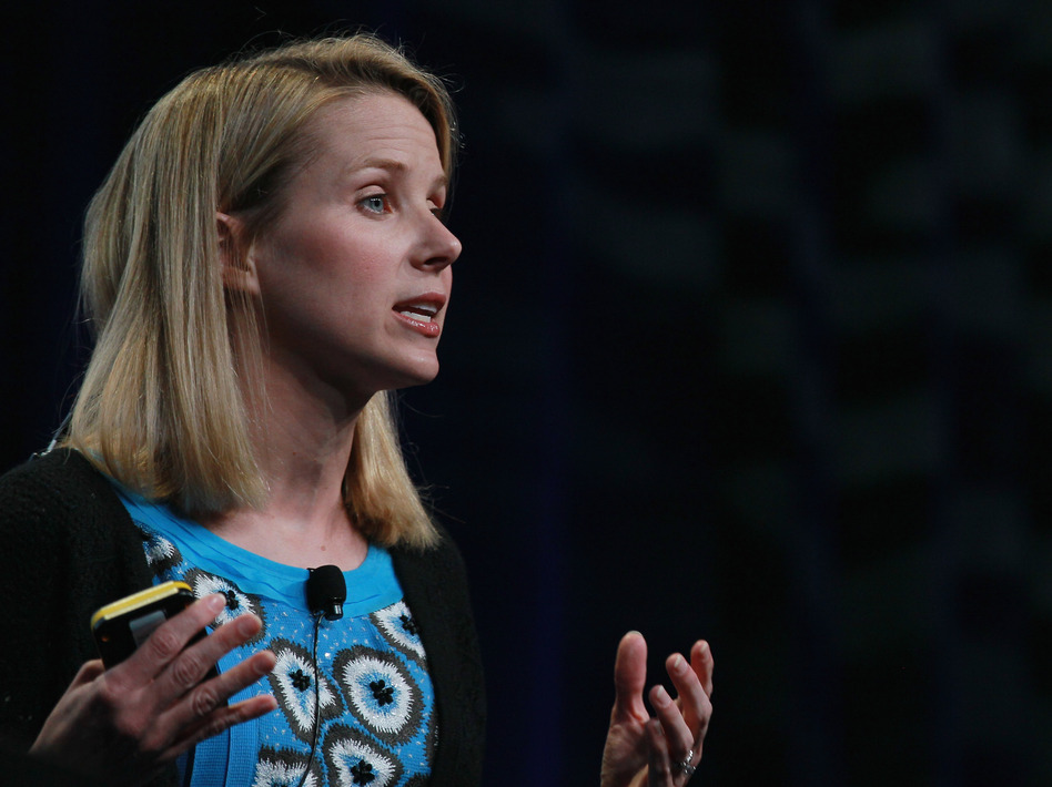 Marissa Mayer left Google to become the CEO of Yahoo. She was Google's 20th hire and is responsible for the look and feel of many of Google's major products. (Justin Sullivan/Getty Images)