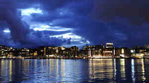 Crime novelist Jo Nesbo says despite Oslo's well-kept streets and sharply dressed residents, the city has a dark and seedy side.