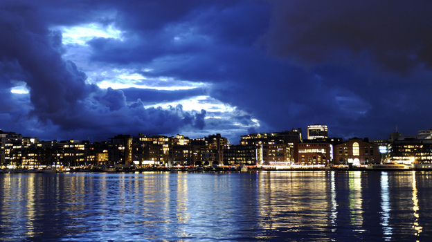 Crime novelist Jo Nesbo says despite Oslo's well-kept streets and sharply dressed residents, the city has a dark and seedy side. (AFP/Getty Images)