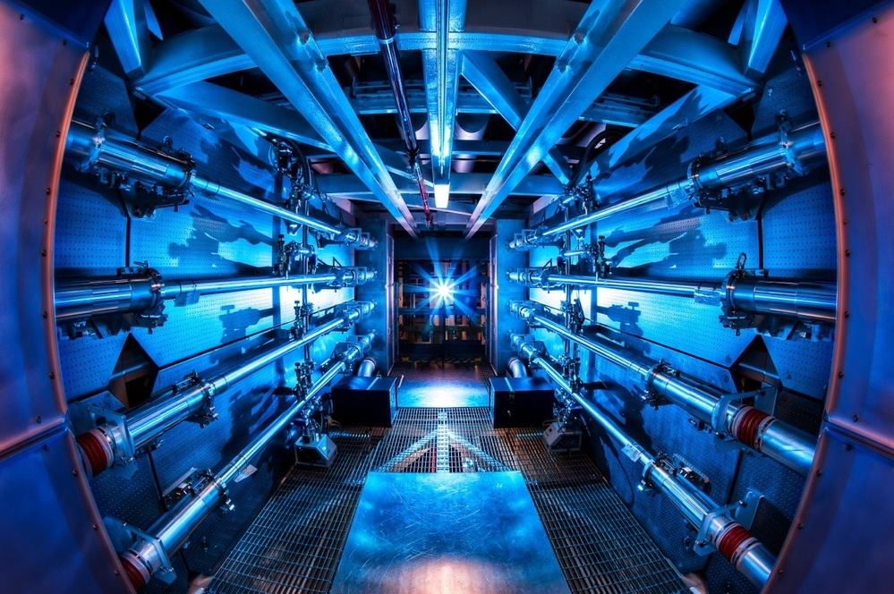 The preamplifiers of the National Ignition Facility are the first step in increasing the energy of laser beams as they make their way toward the target chamber.