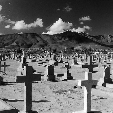 With more than 60,000 graves, Concordia Cemetery in El Paso, Texas, is an easy place in which to get lost. The graveyard covers some 52 acres.
