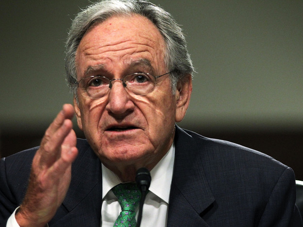 Democratuic Sen. Tom Harkin of Iowa, who was involved in writing the health law, rejects claims that federal health exchanges won't be able to provide tax credits.