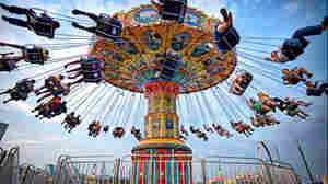 """NPR listener Matt Anderson defines the American dream as """"having the time, money, health and resources to get to enjoy such simple and whimsical pleasures with my family at our local state fair."""""""