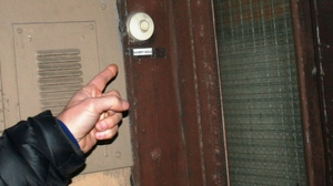 The real-life residents of No. 5 Sofie's Gate have paid homage to Nesbo's fictional detective by putting Harry Hole's name on the doorbell.