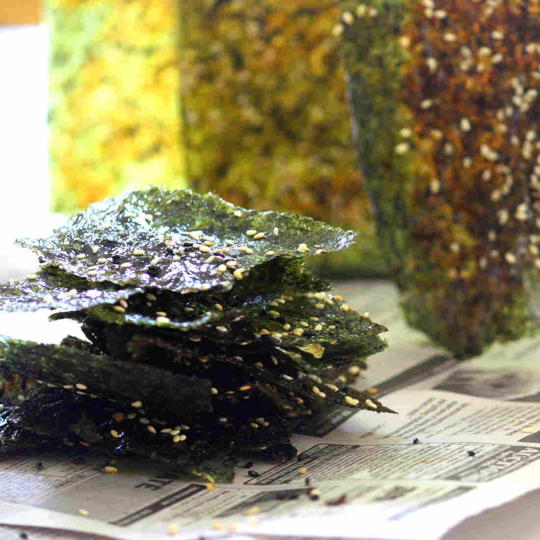 Just Add Water: The Miracle Of Seaweed