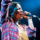 Ana Tijoux performs live in Brooklyn's Prospect Park.
