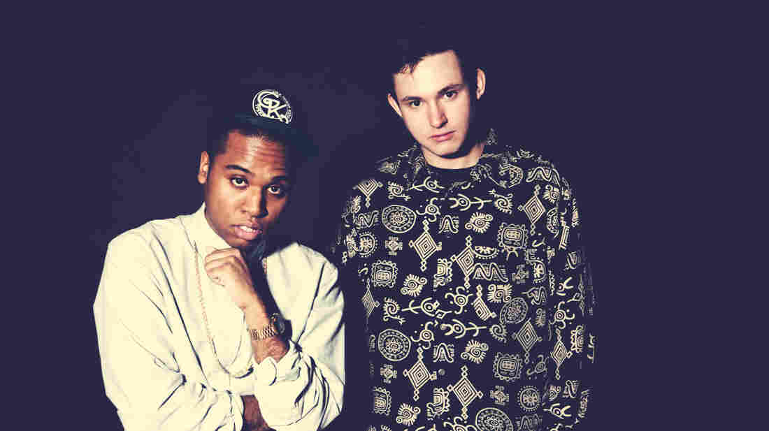 TNGHT pairs up producers Lunice (left) and Hudson Mohawke.