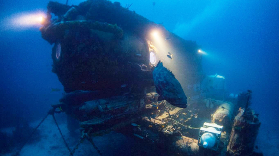 There have been about 50 undersea research bases like Aquarius Reef around the world. Today, it's the last one that remains devoted to scientific research. (Courtesy of DJ Roller)