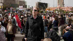 Veteran war correspondent Marie Colvin, shown here in Cairo, was killed in February while reporting in Homs, Syria.