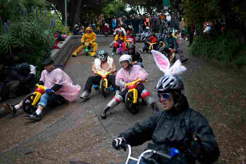 Bring Your Own Big Wheel race, San Francisco