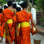 A sunrise ritual draws Pam Houston to Luang Prabang, Laos.