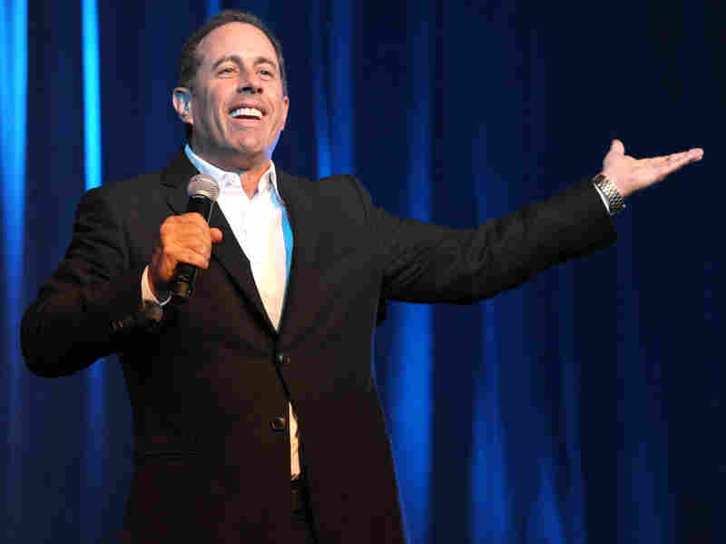 Jerry Seinfeld is premiering a Web-only series Thursday called Comedians in Cars Getting Coffee. The new show features fellow comedians like Larry David, Ricky Gervais and Michael Richards.