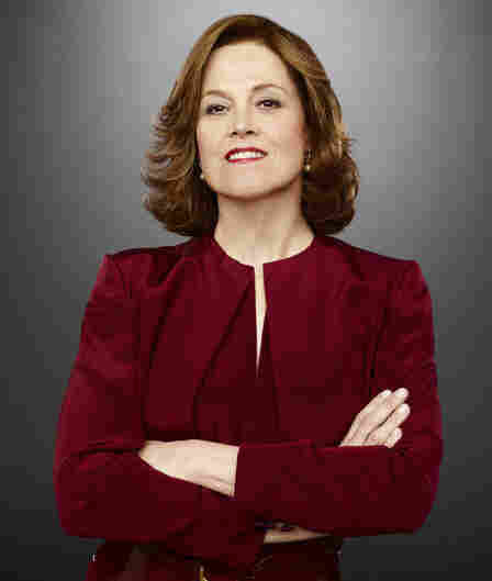 Sigourney Weaver stars as Secretary of State Elaine Barrish in the USA Network miniseries Political Animals.