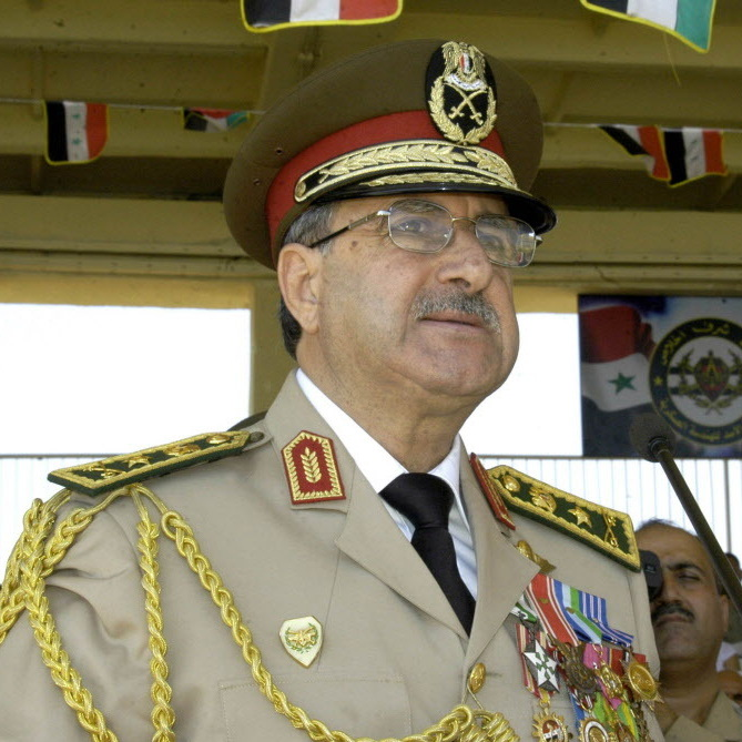 Defense Minister Dawoud Rajha, photographed last September.