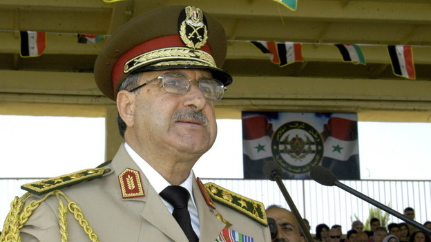 Syrian Defense Minister Gen. Dawoud Rajha last September. (AFP/Getty Images)