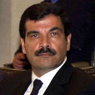 A June 2000 photo of Deputy Defense Minister Assef Shawkat.