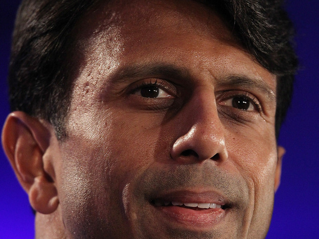 Louisiana Gov. Bobby Jindal speaks during the 2011 Republican Leadership Conference in New Orleans. (Getty Images)