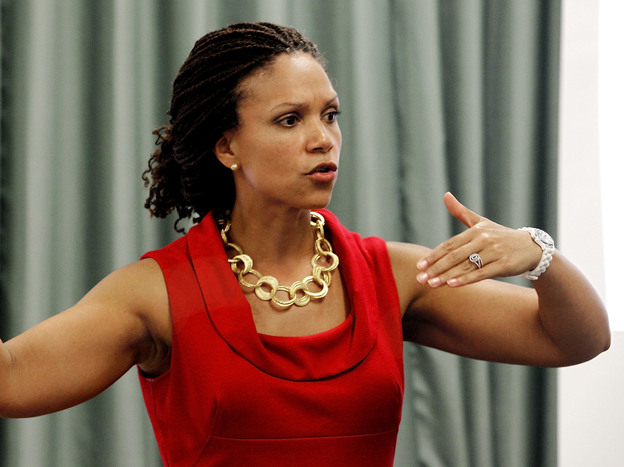Melissa Harris-Perry, MSNBC's newest host, is a Tulane professor with a Ph.D. in political science from Duke. She hosts the two-hour <em>Melissa Harris-Perry</em> show, which airs on Saturday and Sunday mornings.