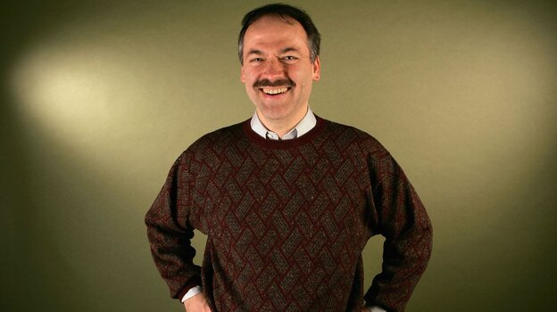 Will Shortz, puzzle master for NPR's Weekend Edition Sunday since the program's start in 1987, is also the crossword editor of The New York Times. (Getty Images)