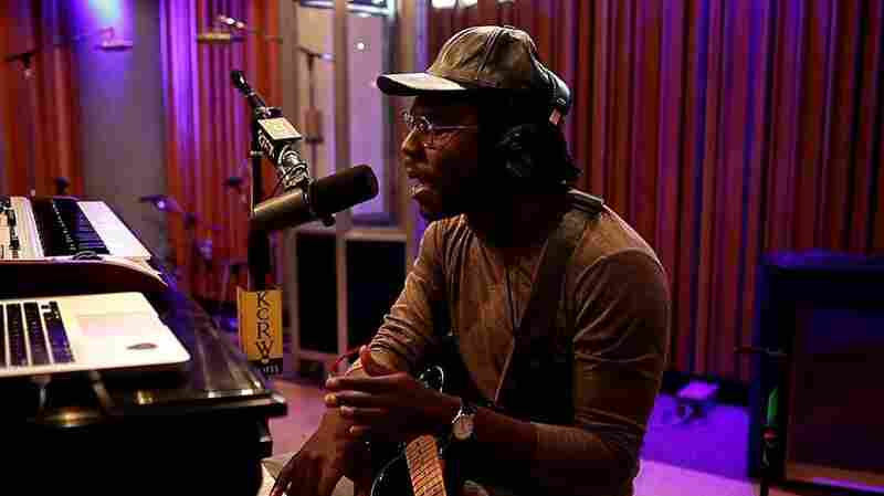 Blood Orange in studio at KCRW.