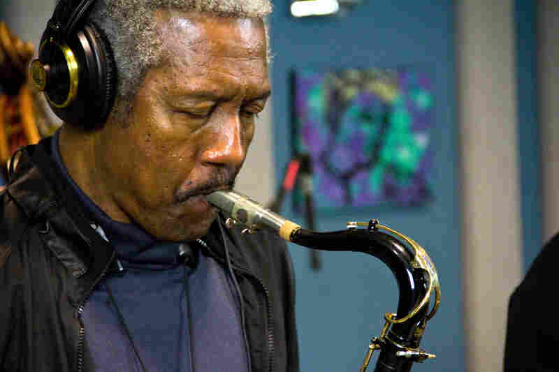 Saxophonist Billy Harper.