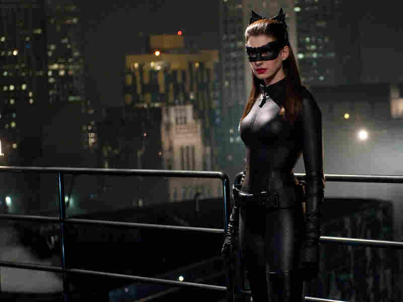 Anne Hathaway is a poised, charismatic Catwoman in this latest installment of the Dark Knight franchise.