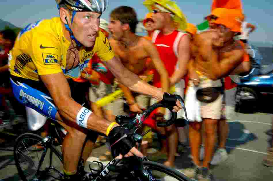 Lance Armstrong, 2005. Following that race, in which he won his seventh consecutive Tour, Armstrong announced his retirement.
