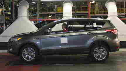 Ford's Escape was redesigned for the 2013 model year. Last month, this one rolled of the assembly line in Louisville, Ky.