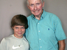 "Jake Bainter and ""Boston"" Bill Hansbury recently visited StoryCorps in St. Petersburg, Fla., where they discussed losing their right legs."